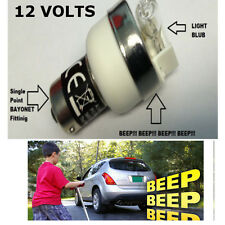 Beep Sirène alarme warning AMPOULE voiture camionnette camion camping-car