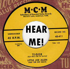 ROCKABILLY REPRO: LITTLE JOE ALLEN - Tiger/Cause I Love You MCM - ROCKER!