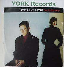 "SWING OUT SISTER - You On My Mind - Ex Con 7"" Single"