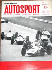 Autosport 11/9/64* ITALIAN GP - NURBURGRING 500Kms - ROVER 2000 TEST