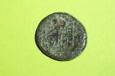 Greek Coin of Seleucis Pieria Antioch Orontem seleucid Zeus Nike ancient money