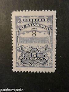 EL SALVADOR, timbre CLASSIQUE 378, neuf (*), PALAIS, MH CLASSIC STAMP NO GUM