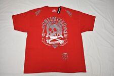 $28 NWT Mens Ecko Unltd T-Shirt MMA To The Grave Graphic Tee Red Sz 2XL XXL N405