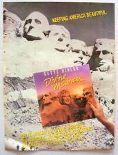 Bette Midler 1980 original Poster Advert Divine Madness
