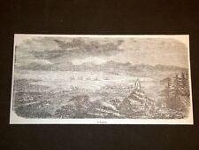 Hakodadi nel 1857 Giappone