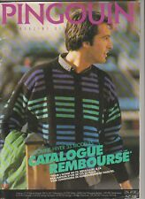 Catalogue Tricot PINGOUIN n°108 Automne Hiver Homme