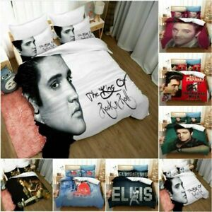 3D Elvis Presley  Music SingerBedding Set Duvet Cover Pillow Case Quilt Bed*Sets