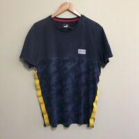 Red Bull Racing Puma Formula One Team F1 T-Shirt Tee Blue Mens XL
