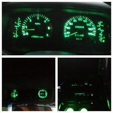 Toyota Landcruiser 70 series Dash 1992-1999 Green Lights LED Full kit + Bonus