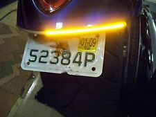 Victory Jackpot LED Under the Fender Turn Signal Light Bar Kit - Smoked Lens