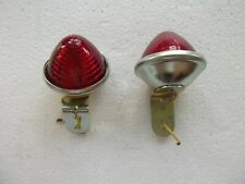 UNIVERSAL  LAMP ASSY 12 V (RED COLOUR)(PAIR)(NOS)a