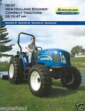 Farm Tractor Brochure - New Holland - Boomer 30 35 40 50 - 2010 (F3115)