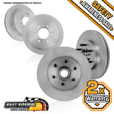 Front And Rear Brake Rotors For 2006 2007 2008 Ford F150 Lincoln Mark LT 2WD