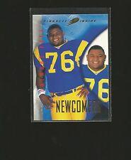 RARE 1997 Pinnacle Inside Foil Error #123 ORLANDO PACE ROOKIE ODDBALL Rams 1/1??