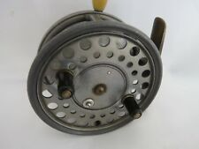 """A VERY GOOD VINTAGE HARDY SILEX MAJOR 4 1/4"""" CASTING CENTREPIN SPINNING REEL"""