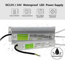 DC12V/24V LED Driver Power Supply Transformer Waterproof IP67 240V for LED Strip