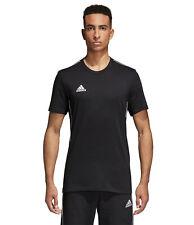 Nuevo CE9063 para hombre Adidas Core 18 Fútbol camiseta Camiseta Algodón 100% genuino-M-L