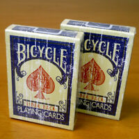 Bicycle Rider Playing Cards Faded Ohio