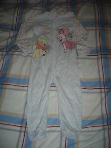 Mädchen Schlafoverall Größe 92 neu Winnie the Pooh Disney Schlafanzug Größe 92