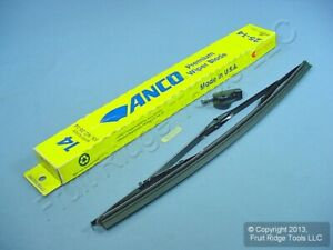 """New SINGLE ANCO 25-14 Premium 14"""" Windshield Wiper Blade Replacement Made in USA"""