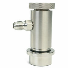 """1/4"""" Barbed Ball Lock Disconnects Gas + Liquid for Cornelius/Corny  Beer Keg"""
