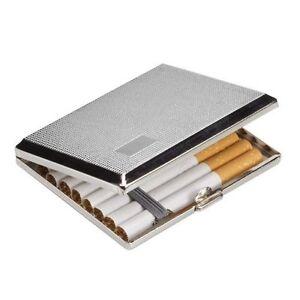 Chrome Cigarette Case Holder Uk Seller