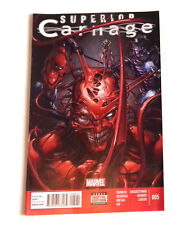 MARVEL COMICS Superior Carnage issue no.5 - Spiderman Venom Related