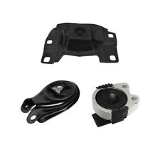 Transmission Motor Mounts Front Rear 3PCS Set Kit 2.0 2.3 L for Mazda 3