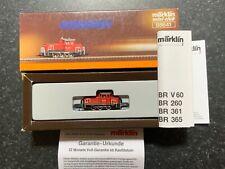 Marklin spur z scale/gauge. DB Cargo Diesel Locomotive.