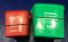 Kleen Pail & Pura Pail Washing Cleaning Buckets san jamar 2 5 quart