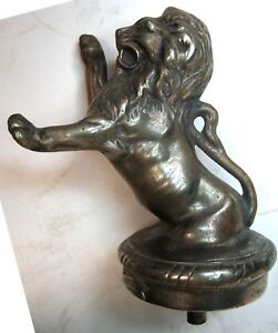 1925-28 FRANKLIN LION RADIATOR CAP MASCOT
