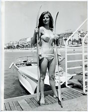 Photo Charlotte Rampling - Cannes Festival 1965 -