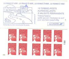 CARNET MARIANNE DU 14 JUILLET YVERT N° 3419 -c10a **AVEC CARRE NOIR