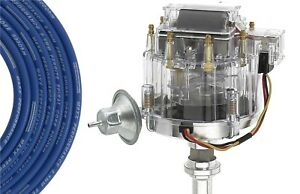 HEI Distributor Spark Plug Wires 79-91 Chrysler Dodge Mopar Plymouth 5.2L 5.9L