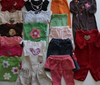 Baby Girls Size 3-6 Months Fall Clothes Lot of 19 Items L1-18 Gymboree, Gap