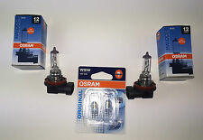 2 x OSRAM H11 Lámpara + 2x W5W 64211/2825-02b bulbo de la 12v 55w/5w