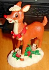 RUDOLPH VINTAGE CERAMIC FIGURINE THE RUDOLPH CO L.P. GT MERCHANDISING & LIC CORP