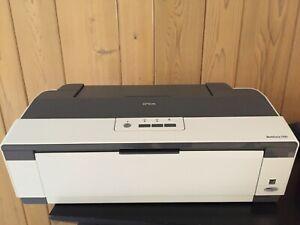 Epson Workforce 1100 Inkjet Printer, Model B322A  -See Description