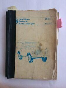 Land Rover Series 3 Parts Manual