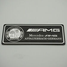 Aluminum Trunk Rear Car sticker emblem badge Fit for Mercedes-Benz S E C AMG