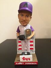 Randy Johnson Arizona Diamondbacks D'Backs Bobblehead Bobble HOF SGA 2015 Plaque