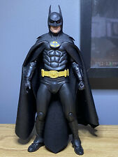 "Authentic Custom 1989 Michael Keaton as Batman 25th Anniversary NECA 7"" inch"