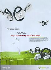 "Fly Away Wire. Fly Away ""Xbox 360"" 2006 Magazine Advert #4717"