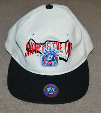 Vtg NWOT New York Rangers Show Me the Cup Starter Snapback Hat 1997 Lady Liberty
