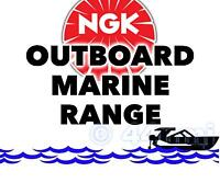 NEW NGK SPARK PLUG For Marine Outboard Engine EVINRUDE 25hp 77-->