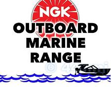 NEW NGK SPARK PLUG For Marine Outboard Engine EVINRUDE 25hp 77-->