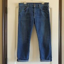 COH Citizens of Humanity Agnes Mid Slim Straight Womens Stretch Blue Jean SZ 31