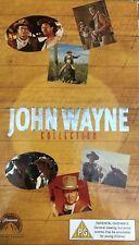 JOHN WAYNE COLLECTION UK VHS BOX SET