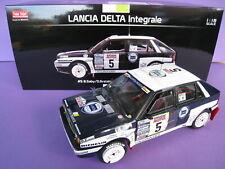 1/18 Lancia Delta Integrale #5 Bruno SABY Tour de Corse 1989 SunStar 3124