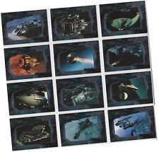 "Star Trek Enterprise Season 2: 12 Card ""22nd Century Vessels"" Chase Set V1-V12"